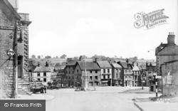 Ashbourne, The Square c.1950