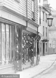 Ashburton, Boot Store, West Street 1913