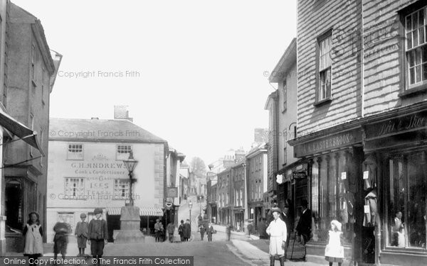 Ashburton, Bull Ring, East Street 1904