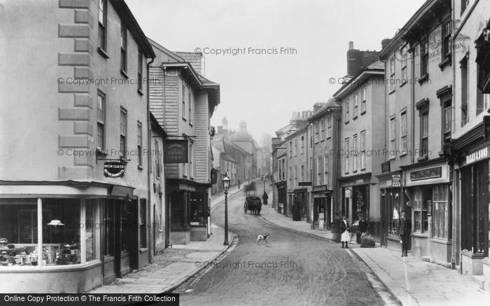 Ashburton, East Street 1904