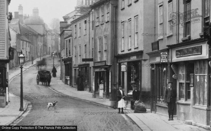 Photo of Ashburton, East Street 1904