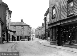 Ashburton, East Street 1913