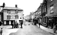 Ashburton, East Street And Bull Ring 1922