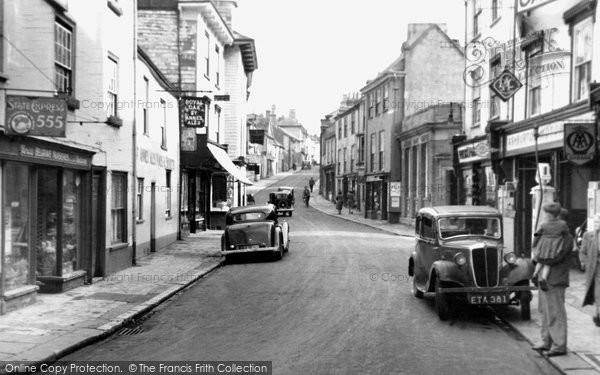 Photo of Ashburton, East Street c.1955