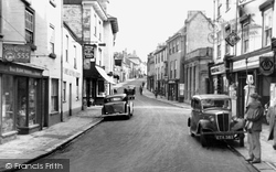 Ashburton, East Street c.1955