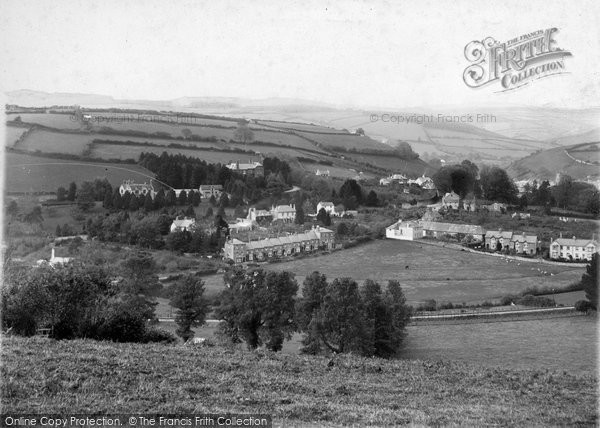Photo of Ashburton, From The West 1913