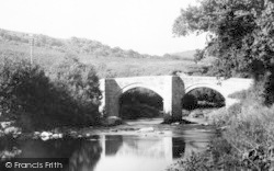 Ashburton, New Bridge c.1960