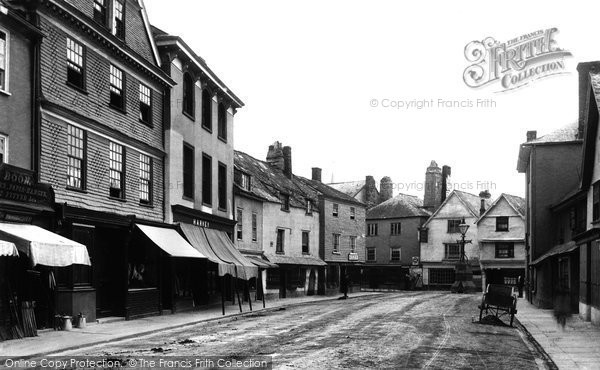 Photo of Ashburton, North Street 1890