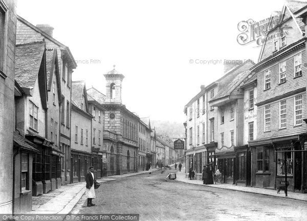 Photo of Ashburton, North Street 1904