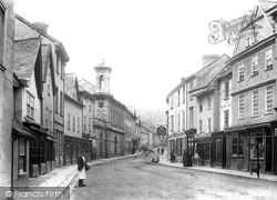 Ashburton, North Street 1904