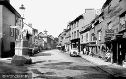 Ashburton, North Street 1936