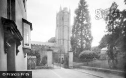 Ashburton, St Andrew's Church 1922