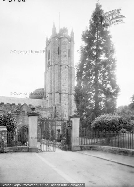 Photo of Ashburton, St Andrew's Church 1922