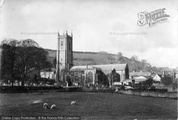 Photo of Ashburton, St Andrew's Parish Church 1913