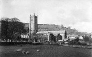 Ashburton, St Andrew's Parish Church 1913