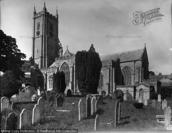 Photo of Ashburton, St Andrew's Parish Church 1936
