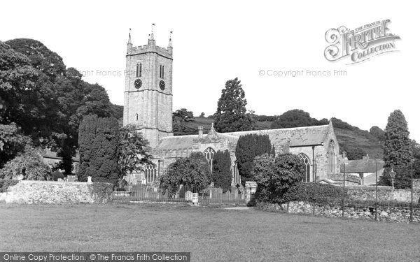 Photo of Ashburton, St Andrew's Parish Church c.1955