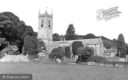 Ashburton, St Andrew's Parish Church c.1955