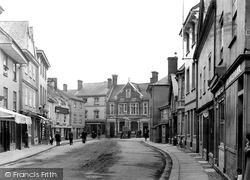 Ashburton, The Bull Ring 1913