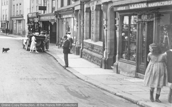 Photo of Ashburton, The Bull Ring 1922