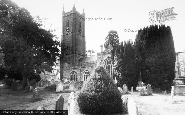 Photo of Ashburton, The Parish Church c.1960