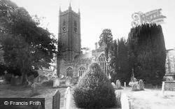 Ashburton, The Parish Church c.1960