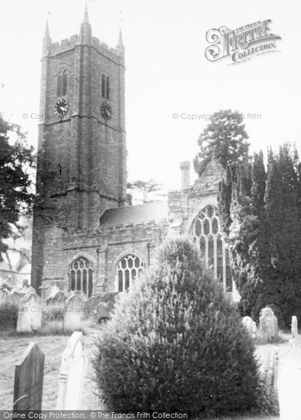 Photo of Ashburton, The Parish Church c.1960