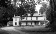 Ashburton, the Waye House Park Hotel c1965