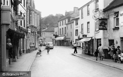 Ashburton, Town Centre c.1960