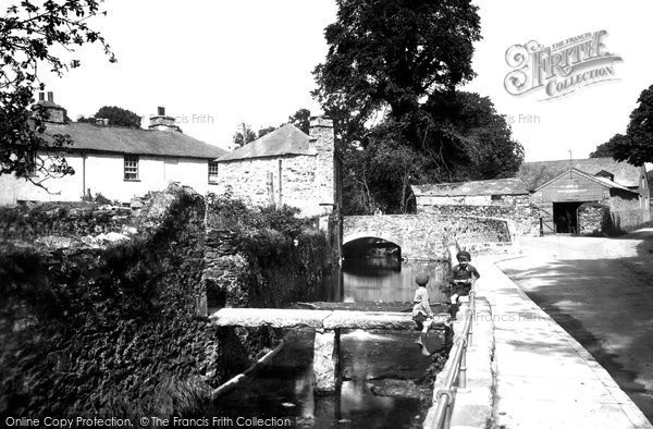 Photo of Ashburton, Two Bridges 1922