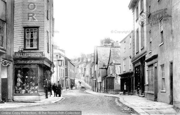 Photo of Ashburton, West Street 1904