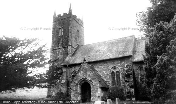 Photo of Ashbury, St Mary's Church c.1960