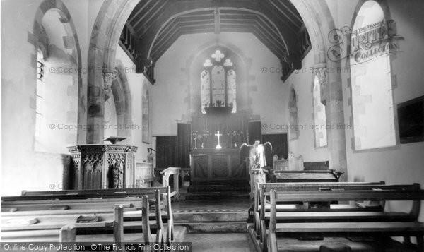 Photo of Ashbury, St Mary's Church Interior c.1960