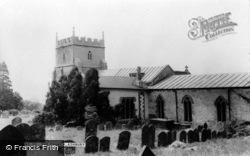Ashbury, St Mary The Virgin Church c.1965