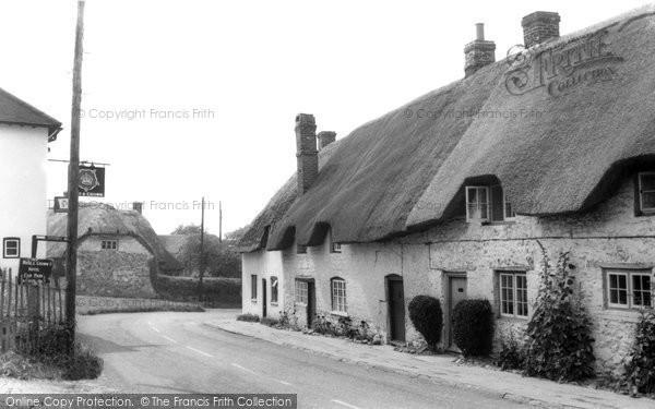 Ashbury, the High Street c1965