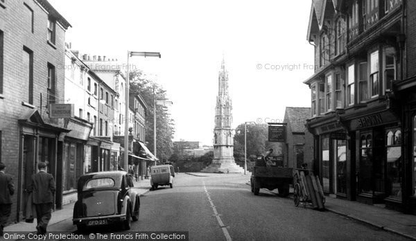 Photo of Ashby De La Zouch, Bath Street c.1955