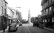 Ashby De La Zouch, Bath Street c.1955