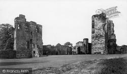 Ashby De La Zouch, Castle c.1955