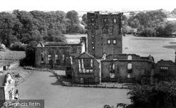 Ashby De La Zouch, Castle From St Helen's Church c.1965