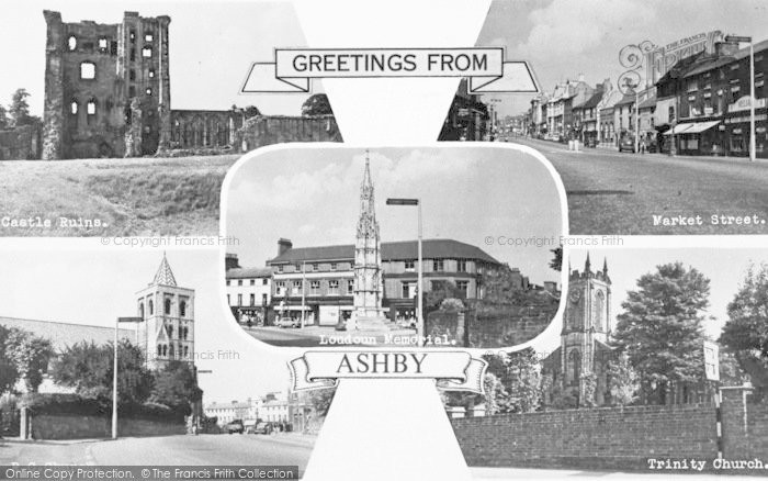 Photo of Ashby De La Zouch, Composite c.1965