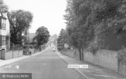 Ashby De La Zouch, General View c.1965