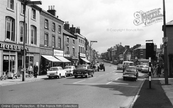 Ashby-De-La-Zouch, Market Street 1966