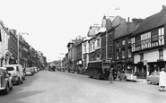 Ashby-De-La-Zouch, Market Street c1955