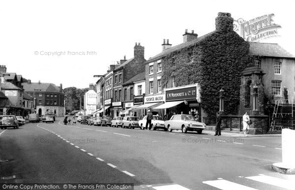 Photo of ashby de la zouch market street c1965 reheart Image collections