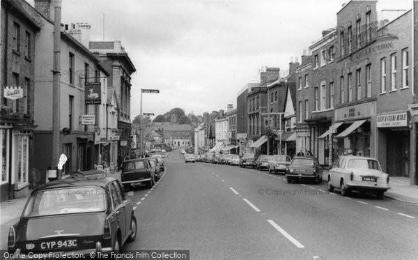 Photo of Ashby De La Zouch, Market Street c.1965