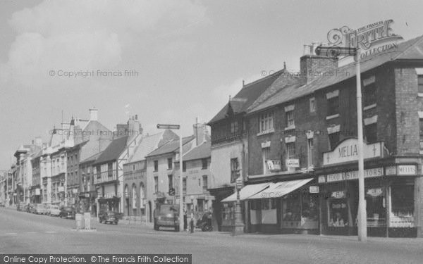 Photo of Ashby De La Zouch, Market Street c.1965