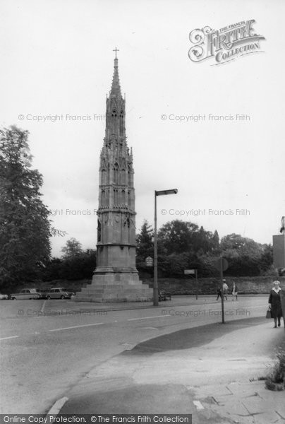 Photo of Ashby De La Zouch, Memorial, Bath Street c.1965