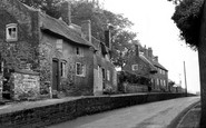 Ashby-De-La-Zouch, Old Cottages, Hill Street c1955