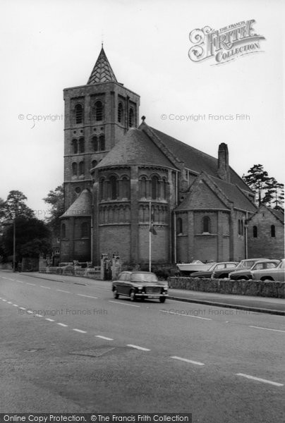 Photo of Ashby De La Zouch, Our Lady Of Lourdes Catholic Church c.1965