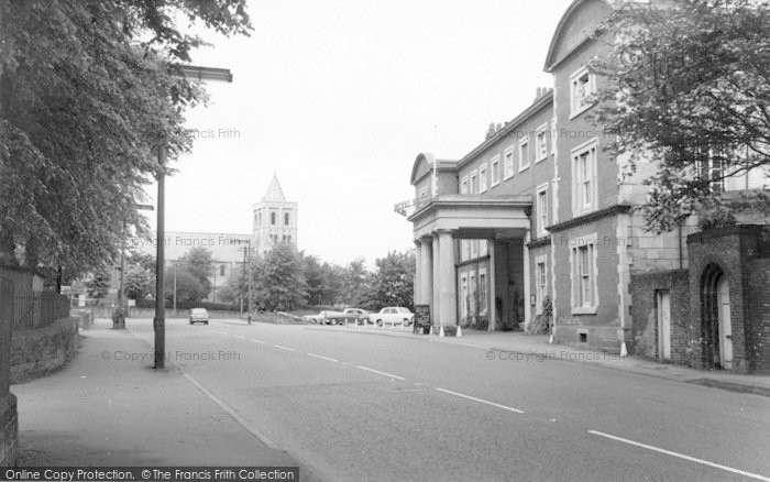 Photo of Ashby De La Zouch, Royal Hotel c.1965